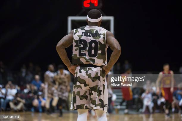 Kay Felder of the Canton Charge looks on during the game against the Fort Wayne Mad Ants at the Canton Memorial Civic Center on March 4 2017 in...