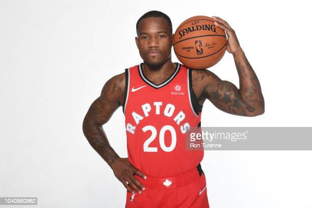 Kay Felder of the Toronto Raptors poses for a portrait at media day on September 24 2018 at the Air Canada Centre in Toronto Ontario Canada NOTE TO...