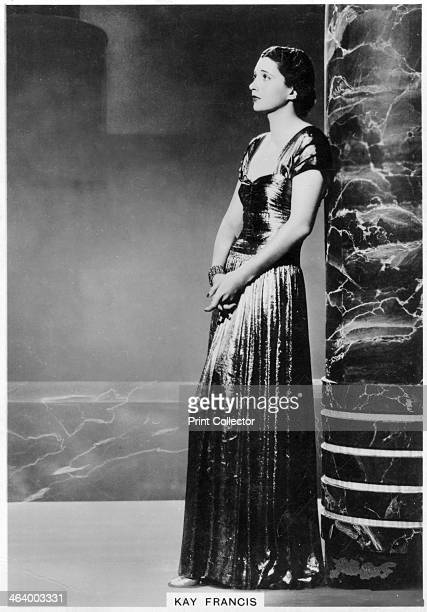 Kay Francis American stage and film actress 1938 Francis was an American actress who after a brief beginning on Broadway in the 1920s moved to film...
