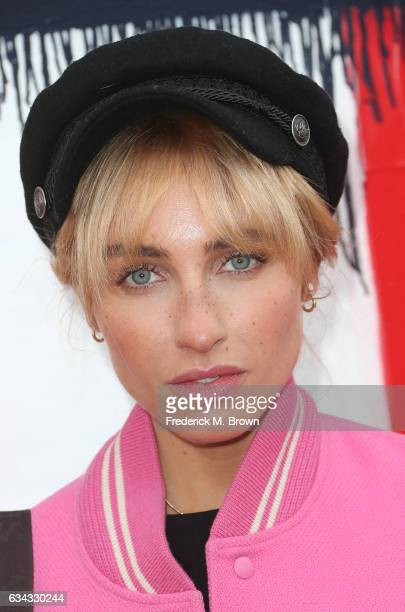 Kay Goldilocks attends Tommy Hilfiger Spring 2017 Women's Runway Show at the Windward Plaza on February 8 2017 in Venice California