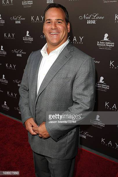 840a13d30 CEO Kay Jewelers Mark Light arrives at celebrated jewelry designer Neil  Lane's debut of his new