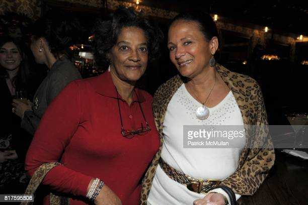 Kay Johnson and Michelle Marsh attend DEBBIE BANCROFT Hosts Luncheon Honoring MICHELLE PAIGE PATTERSON at 99 PARK AVENUE TAVERN on December 13 2010...