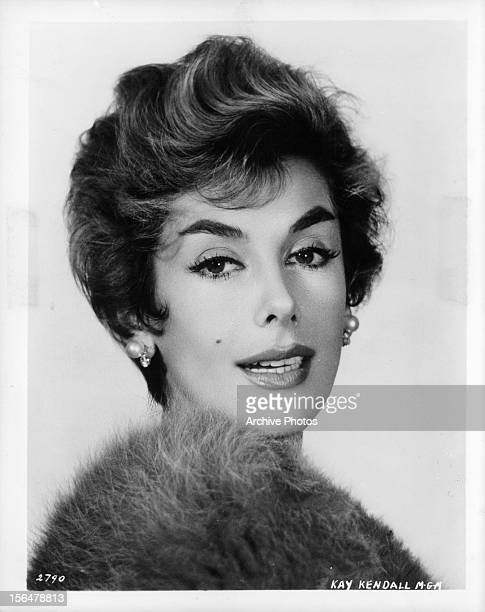Kay Kendall in publicity portrait Circa 1955
