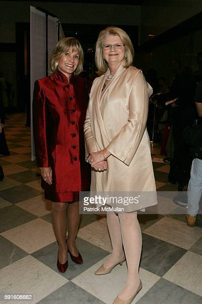 Kay Koplovitz and Geraldine Laybourne attend She Made It The Museum of Television and Radio Celebrates the Writers Directors Producers Journalists...