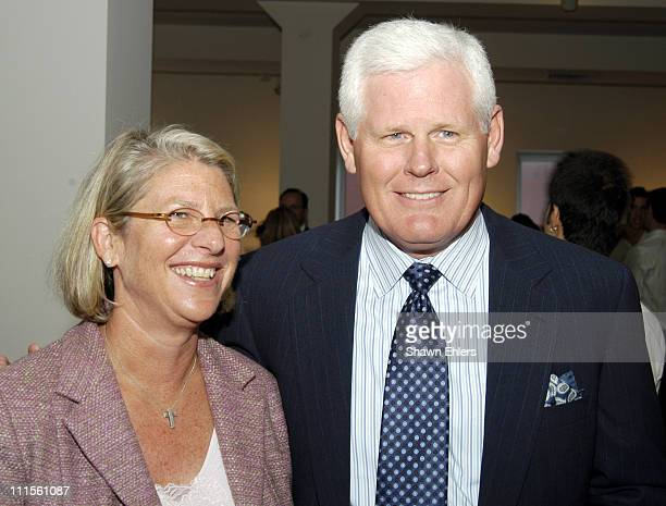 Kay Krill and Patrick Spanhauer during Olympus Fashion Week Spring 2005 Ann Taylor Celebrates 50th Anniversary With Vogue at Chelsea Art Museum in...