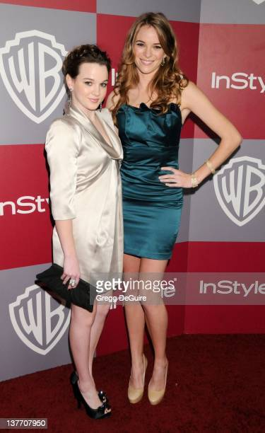 Kay Panabaker and Danielle Panabaker arrive sat the 12th Annual Warner Bros. And Instyle Post-Golden Globe Party at the Beverly Hilton Hotel on...