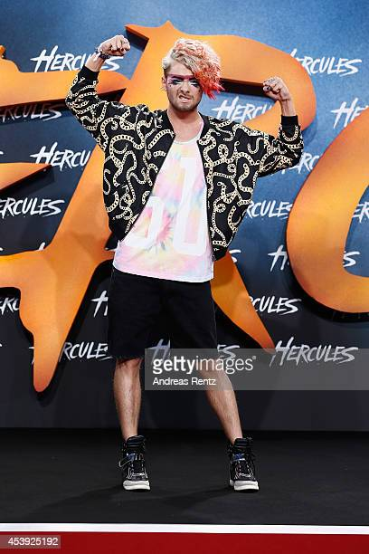 Kay Ray attends the Europe premiere of Paramount Pictures 'Hercules' at CineStar on August 21, 2014 in Berlin, Germany.