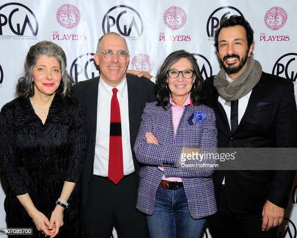 Kay Rothman William Horberg Donna Gigliotti and Blaine Graboyes attend The Players Hosts East Coast Celebration of the 2018 Producers Guild Nominees...