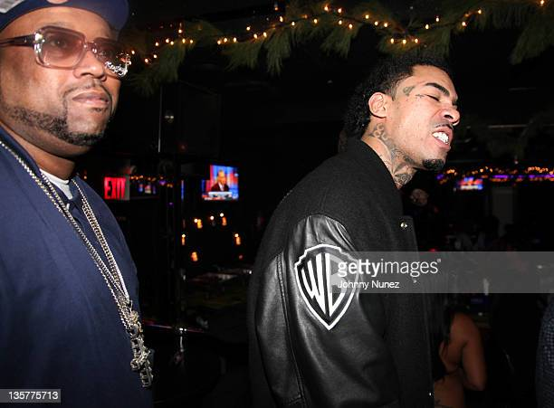 DJ Kay Slay and Gunplay visit Sue's Rendezvous on December 13 2011 in Mount Vernon New York