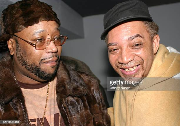 DJ Kay Slay and Kool DJ Red Alert during The 8th Annual Mix Tape Awards at Speeed in New York City New York United States