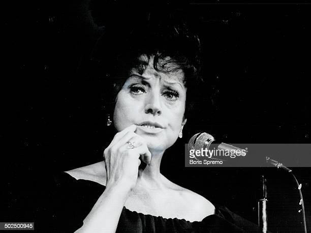 Kay Starr. Singer at Imperial Room