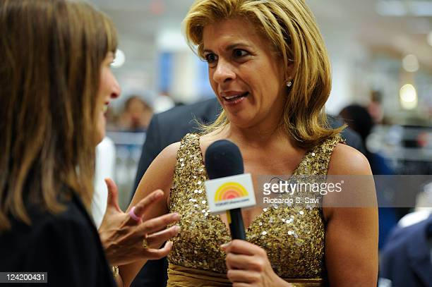Kay Unger and Hoda Kotb attend Fashion Night Out at Lord Taylor on September 8 2011 in New York City