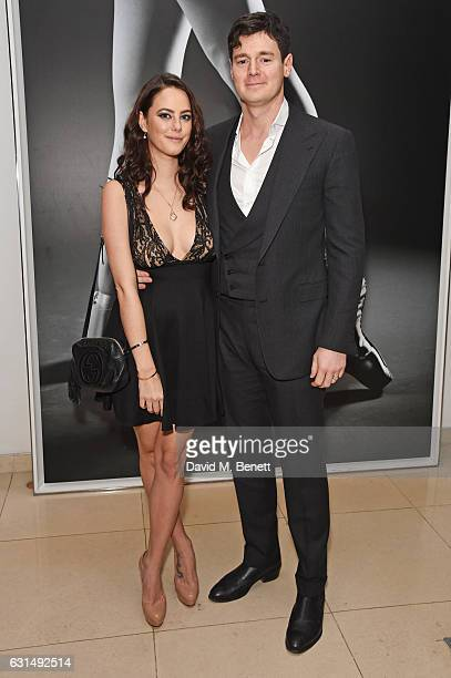 """Kaya Scodelario and Benjamin Walker attend a drinks reception ahead of the press night performance of The English National Ballet's """"Giselle"""" at St..."""