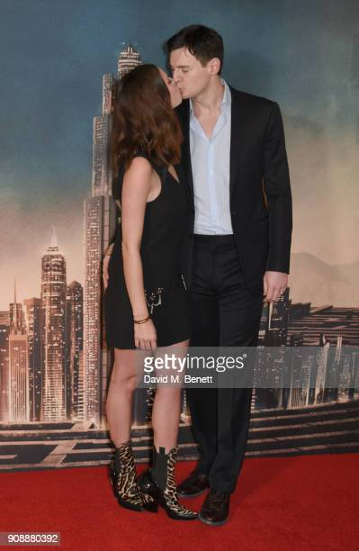 Kaya Scodelario and Benjamin Walker attend the UK fan screening of 'Maze Runner The Death Cure' at Vue West End on January 22 2018 in London England