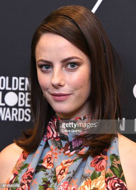 Kaya Scodelario arrives at the Hollywood Foreign Press Association And InStyle Celebrate The 75th Anniversary Of The Golden Globe Awards at Catch LA...