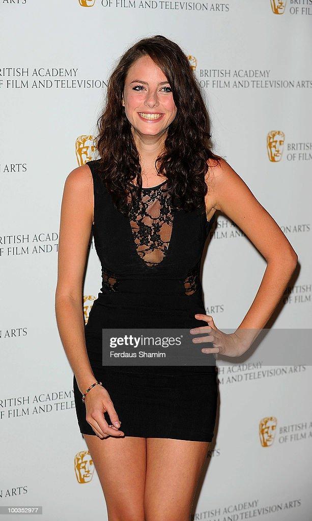 Kaya Scodelario attends the British Academy Television Craft Awards at London Hilton on May 23, 2010 in London, England.