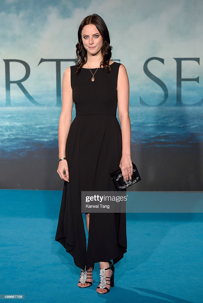 Kaya Scodelario attends the European Premiere of 'In The Heart Of The Sea' at Empire Leicester Square on December 2, 2015 in London, England.