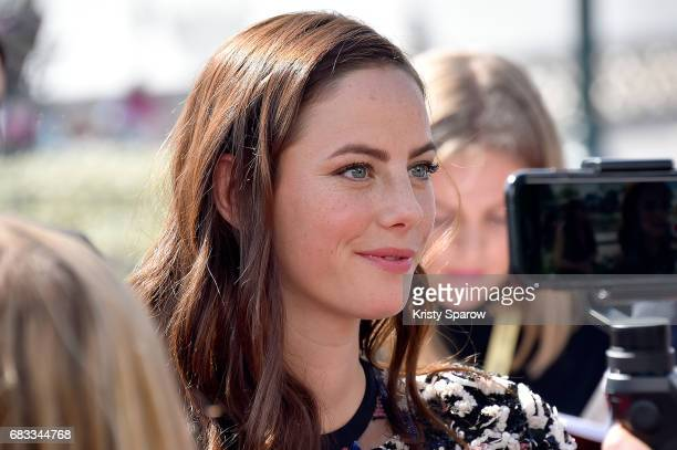 PARIS MAY 14 Kaya Scodelario attends the European Premiere to celebrate the release of Disney's Pirates of the Caribbean Salazar's Revenge at...