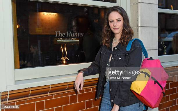 Kaya Scodelario attends the Hunter x All Points East Festival kickoff party on May 3 2018 in London England