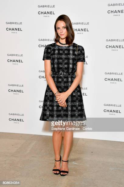 Kaya Scodelario attends the launch party for Chanel's new perfume Gabrielle as part of Paris Fashion Week on July 4 2017 in Paris France