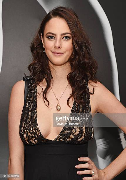 Kaya Scodelario attends the opening night reception of the English National Ballet's production of Giselle hosted by St Martins Lane on January 11...