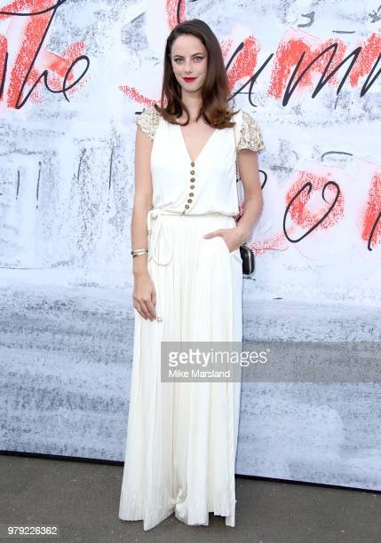 Kaya Scodelario attends The Serpentine Summer Party at The Serpentine Gallery on June 19 2018 in London England