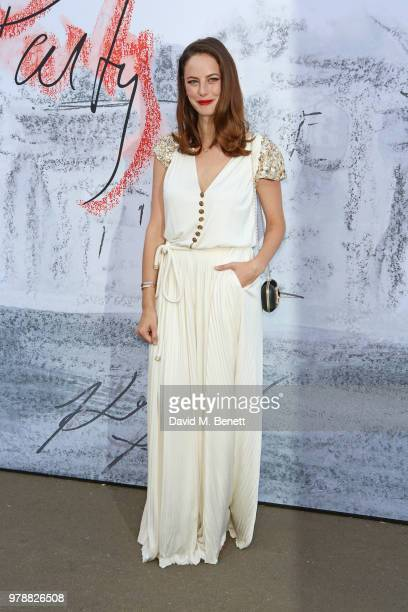 Kaya Scodelario attends the Serpentine Summper Party 2018 at The Serpentine Gallery on June 19 2018 in London England