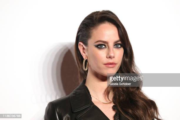 Kaya Scodelario wearing jewelry by Clash de Cartier during the Clash de Cartier event at la Conciergerie on April 10 2019 in Paris France
