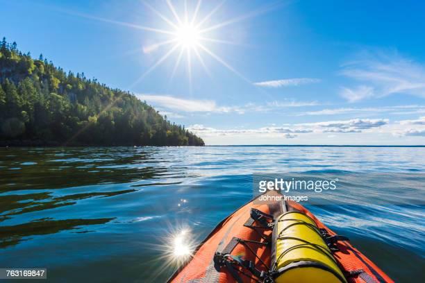 Kayak at water