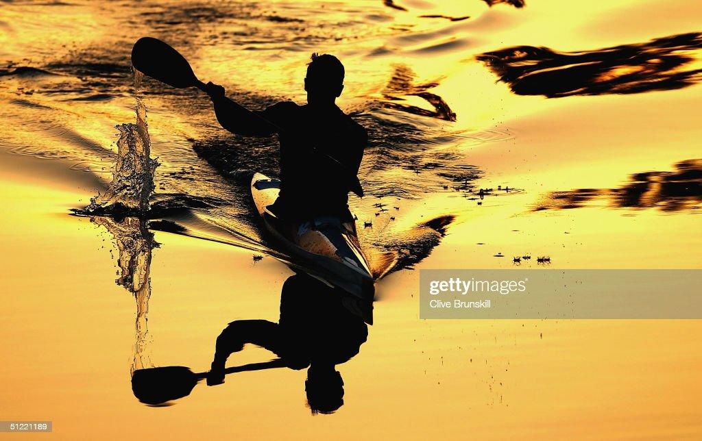 Mens K1 Flatwater 500m Semis : News Photo