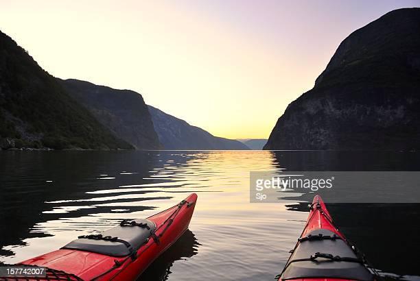 Kayak in Norway