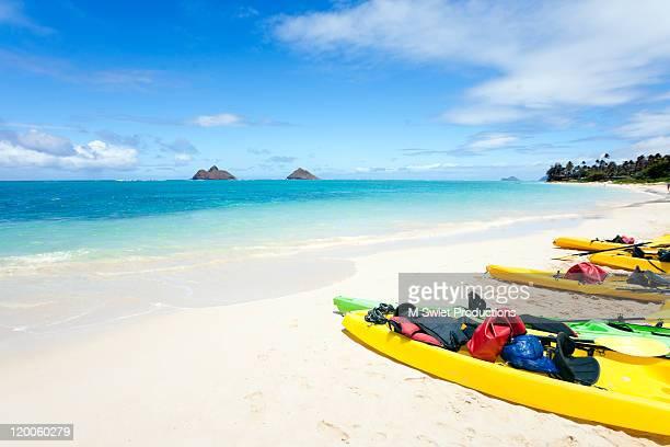 Kayak on Lanikai Beach