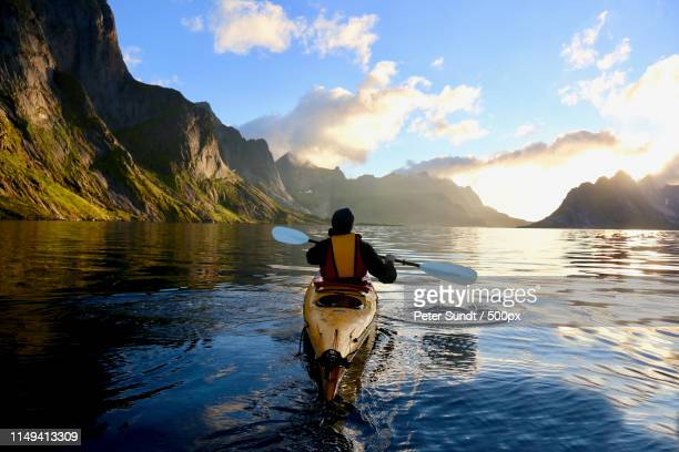 kayak - nature stock pictures, royalty-free photos & images
