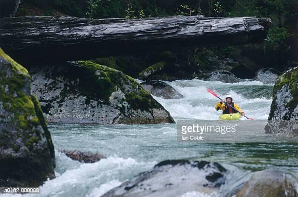 Kayaker in River