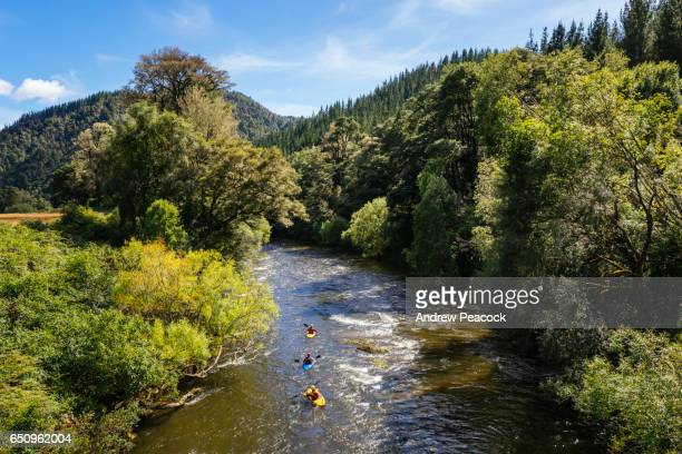 Kayakers on the Mangles River near Murchison