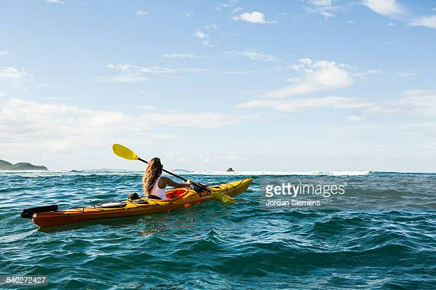 Kayaking excursion through the Philippines