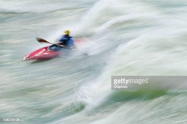 kajakfahren, great falls, potomac river, virginia, maryland - ogphoto stock-fotos und bilder
