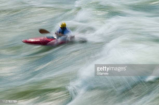 kayaking, great falls, potomac river, virginia maryland - ogphoto stock photos and pictures