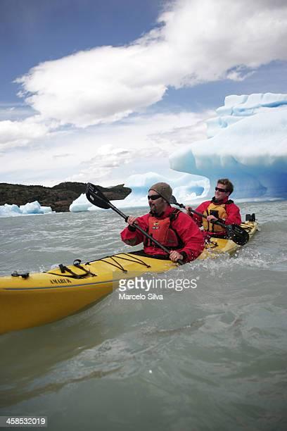En kayak Icefloe