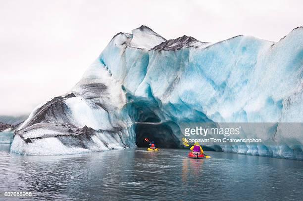 Kayaking in Valdez Glaicer, Alaska