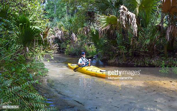 Kayaking Juniper Springs in The Ocala National Forest