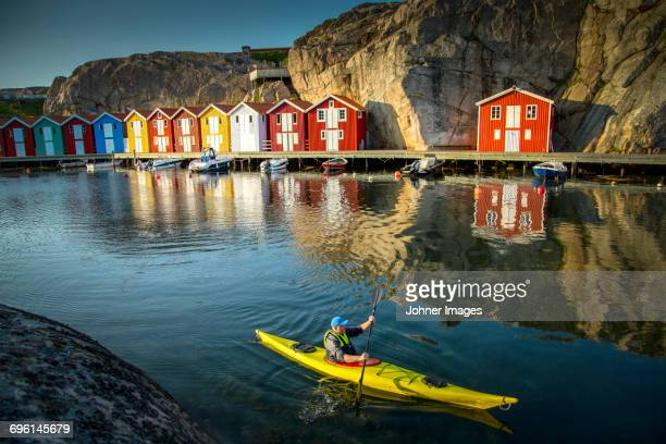 kayaking - gothenburg stock pictures, royalty-free photos & images