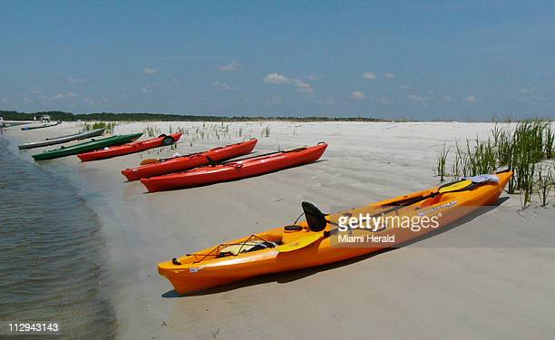 Kayaking to remote beaches is one of the attractions of Amelia Island Florida