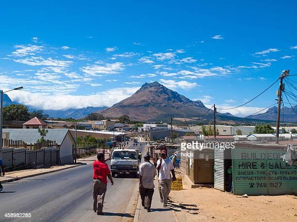 Kayamandi township, Stellenbosch, South Africa