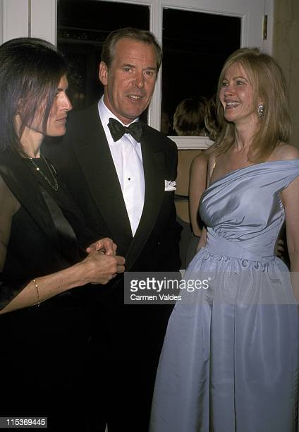 Kayce Freed Peter Jennings and guest during ASPCA Bergh Ball Honoring Roger A Caras at Plaza Hotel in New York City New York United States