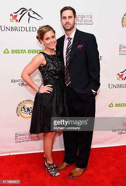 Kaycee Loucka and basketball player Luke Hancock attend the 141st Kentucky Derby Unbridled Eve Gala at Galt House Hotel Suites on May 1 2015 in...