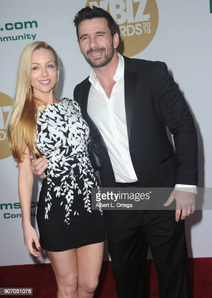 Kayden Kross And Manuel Ferrara Arrive For The 2018 Xbiz Awards Held At Jw Marriot At