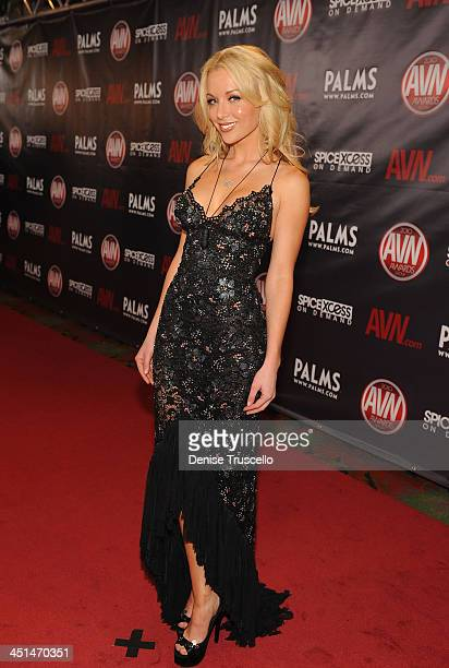 Kayden Kross arrives at the 2010 AVN Awards at the Pearl at The Palms Casino Resort on January 9 2010 in Las Vegas Nevada