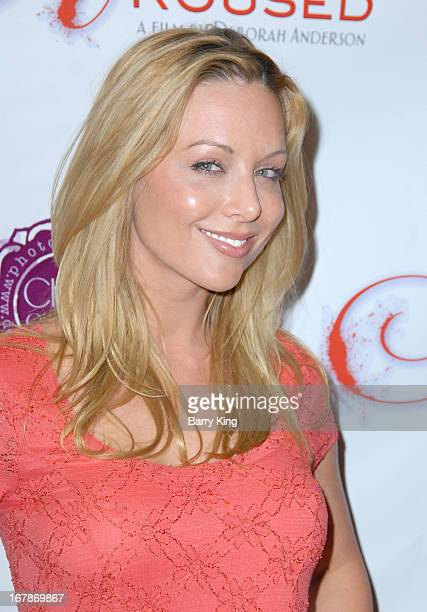 Kayden Kross attends the Aroused Los Angeles Premiere on May 1 2013 at the Landmark Nuart Theatre in Los Angeles California
