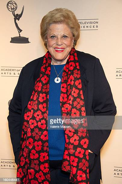 Kaye Ballard attends The Academy Of Television Arts Sciences Presents Retire From Showbiz No Thanks at Academy of Television Arts Sciences Conference...